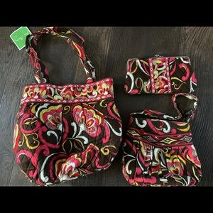New Vera Bradley bags and wallet
